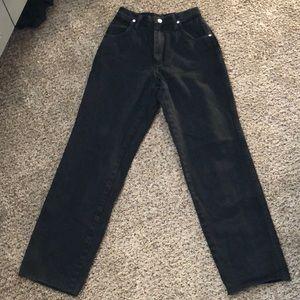 Wrangler Jeans - Vintage black Wranglers